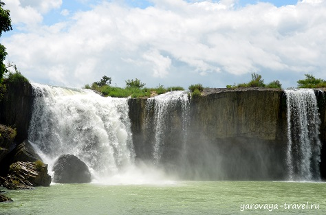 Водопад Драй Нур.
