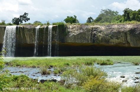 водопад драй нур