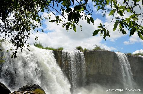 Водопад Драй Нур в провинции Даклак.