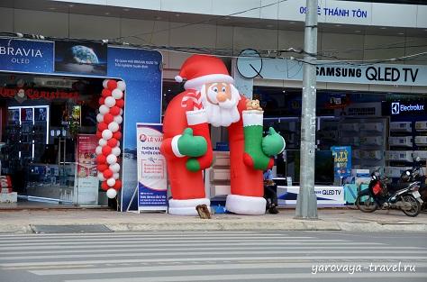 Рождество во Вьетнаме.
