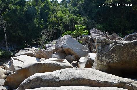 бахо водопады