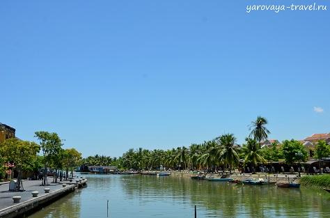 Исторический центр Хойана часто называют «вьетнамской Венецией».