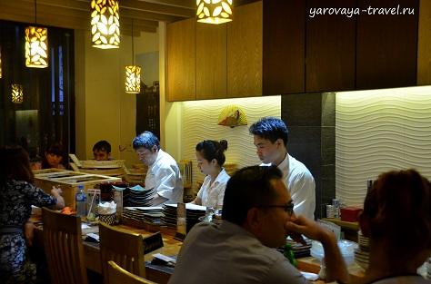 кивами суши в нячанге