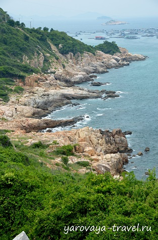 Бухта Винь Хи во Вьетнаме.