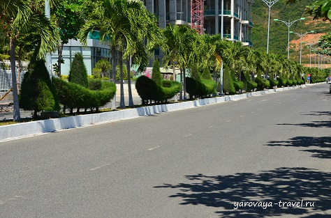 По дороге в Ану Марину.