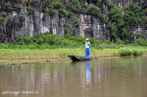 Провинция Нинь Бинь. Вьетнам.