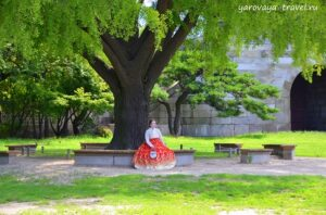 Experience with hanbok.
