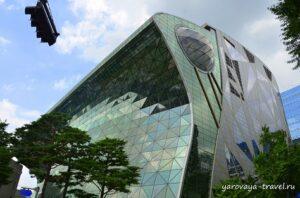 Здание Мэрии в Сеуле.