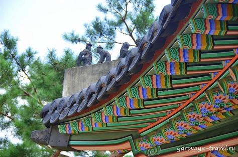 Токсугун. Сеул. Южная Корея.