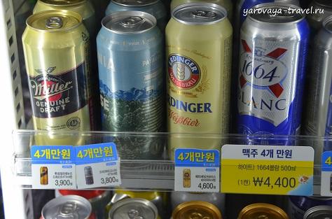 пиво в сеуле