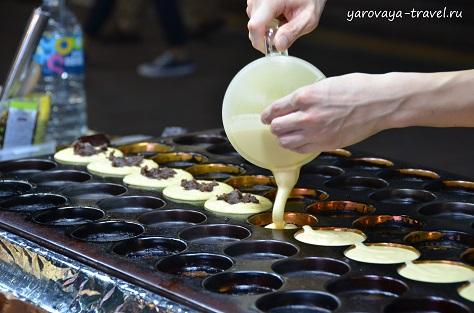 Корейская уличная еда.