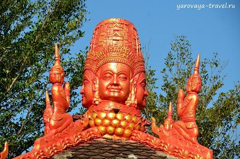 Пагода тысячи лиц. Нячанг. Вьетнам.