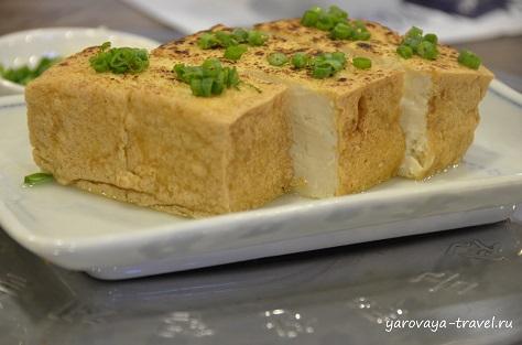 Тофу с соевым соусом - пальчики оближешь!