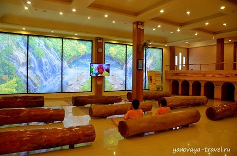 Общий зал. Здесь можно общаться, смотреть телевизор, читать и т.д.