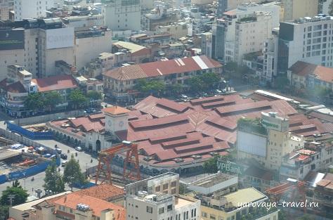 Рынок Бен Тхань.