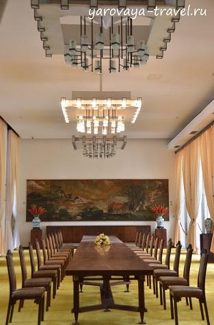 Банкетный зал в Зале Независимости