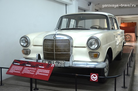 Автомобиль Президента Нгуен Ван Тхьеу.